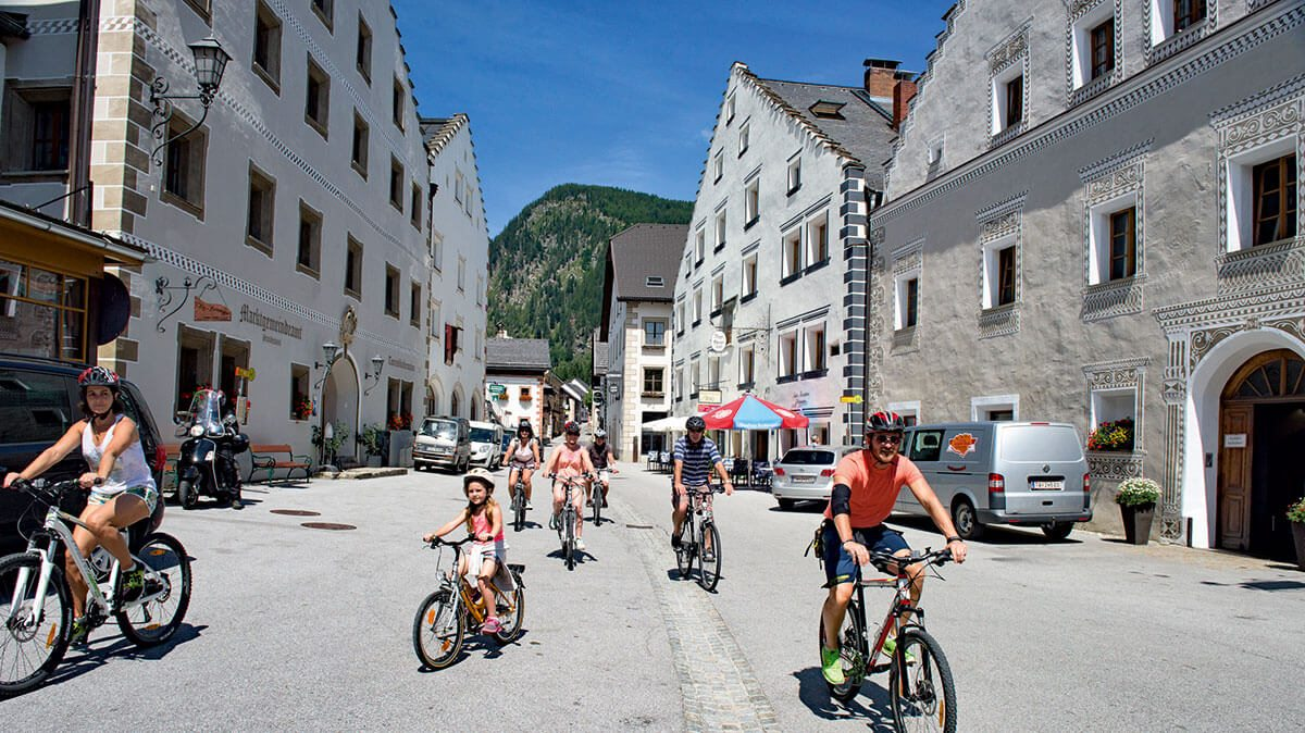 Radfahren - Sommerurlauab in Mauterndorf, Salzburger Lungau