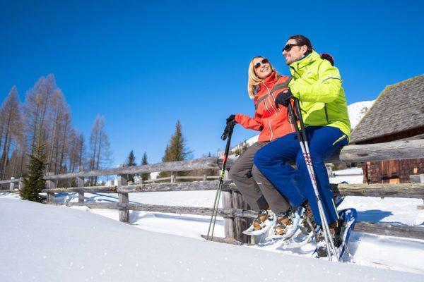 Schneeschuhwandern im Winterurlaub im Lungau, Salzburg