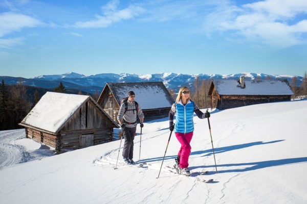 Skitouren im Winterurlaub im Lungau, Salzburg